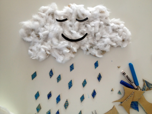 rain cloud activity by Danielle