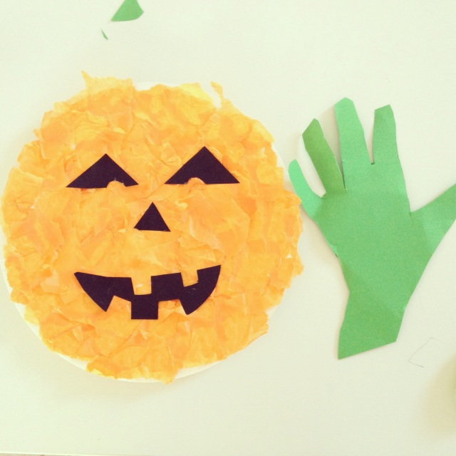 Halloween craft for preschoolers