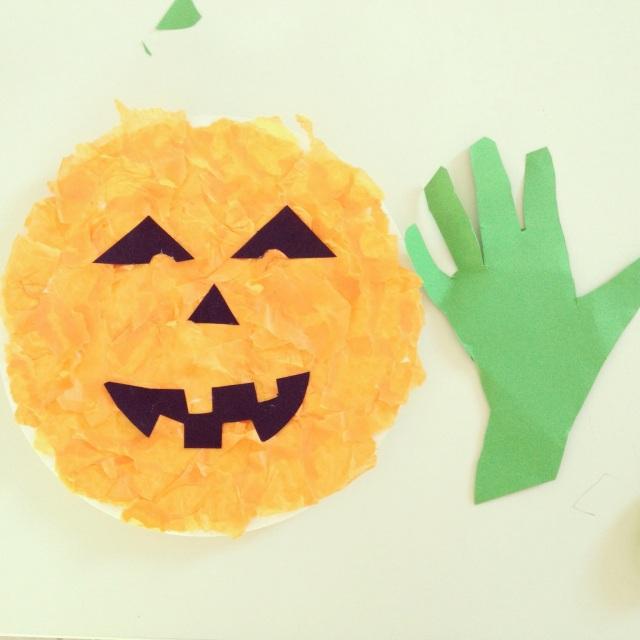 Halloween craft for preschoolers