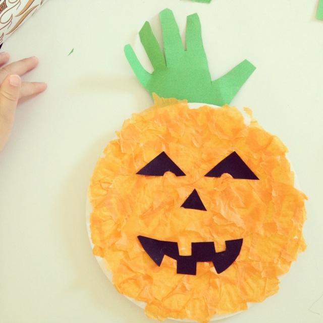 jack o'lantern for preschoolers