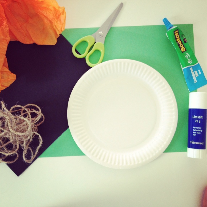 Halloween craft supplies