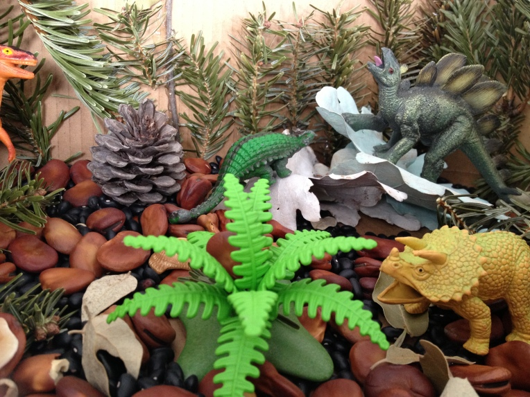 Learn and Play en Anglais - DIY Dinosaur World