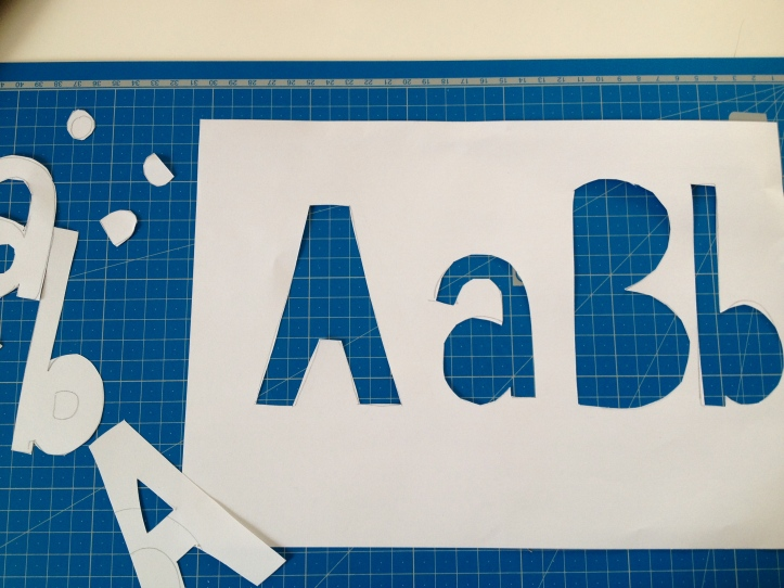 ABC Stencil