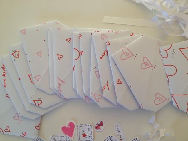 folded envelopes