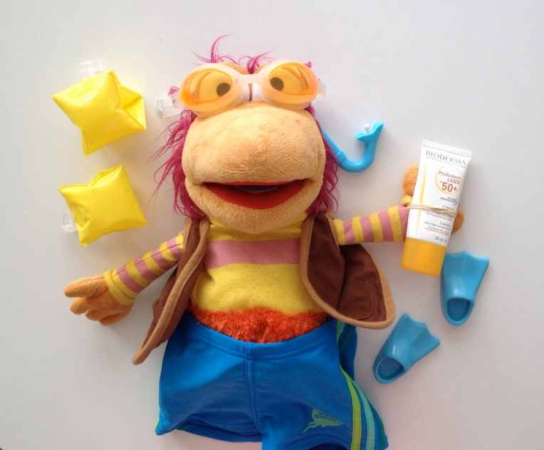 Gobo says: Always wear sunblock!