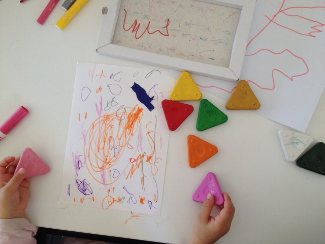 Younger children can draw freely and skip the writing.