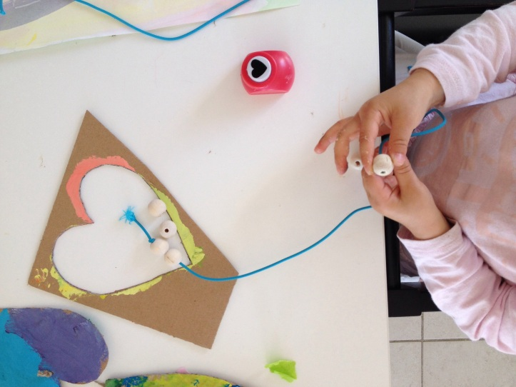 Very young children can aslo benefit from this activity.
