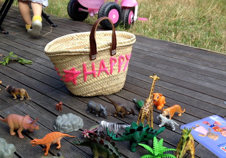 DIY basket by Learn and Play en Anglais