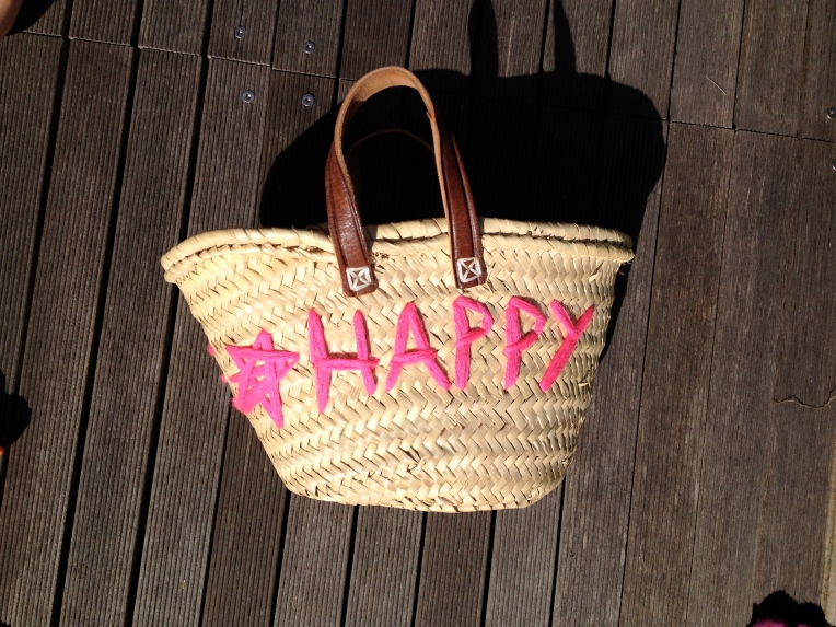 DIY market basket decoration by Learn and Play en Anglais!